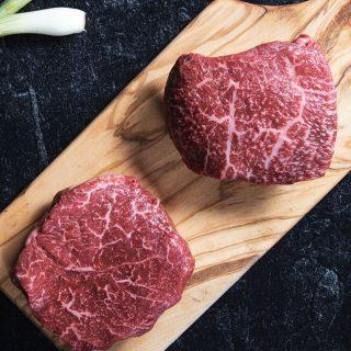 Wagyu Top Sirloin Steaks Black Label